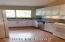 KITCHEN WITH VIEWS OF YOUR PRIVAE 21 ACRE CANYON (NORTH)