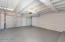 Double garage with new epoxy flooring.