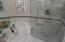Jetted Garden tub & Tile Shower