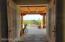 Entryway with double doors.
