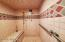 Steam room shower!