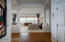 Entryway and spacious Living/Dining Room