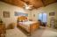 Beamed ceiling. Jack & Jill bath off bedrooms 2 + 3