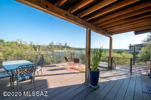 Back deck with City Views