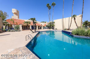 Pool, spa, exercise facility & rec room/clubhouse.