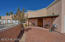 Extensive, easy care brick paver front patio area.