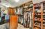 Primary walk-in closet