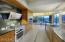 Light & open kitchen