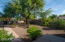 The front courtyard has an amazing Mesquite Tree that adds tons of shade to the front yard.