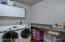 Storage, folding area and utility sink - next to Master Bedroom. Washer / Dryer STAY !!!!