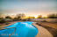 beautiful pool to relax in and watch the sun rise or set.