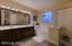 Large master bathroom with garden tub and walk in shower
