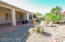 Large desert Oasis of a yard.