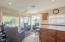 Views abound from kitchen and family/nook area