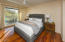 Master Bedroom to Deck Added to for Mountain Views