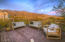 Deck Area with Mountain and Sunset Views