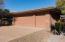 Two car garage plus golf cart garage