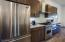Stainless steel Viking appliances make cooking fun...or, order in from the Canyon Ranch Grill!
