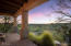 Peaceful and serene patio perfect for enjoying the picturesque sunsets
