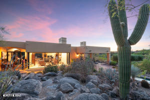 Located between Ventana Canyon and Sabino Canyon in the gated Canyon View Estates. Views and privacy in a convenient foothills location.
