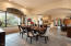 Large formal dining area, ideal for hosting friends and family.