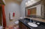 Guest Bathroom With With Quartz Counter Tops Full Bathroom With Tub and Shower.