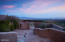 This high elevation lot provides panoramic city views.