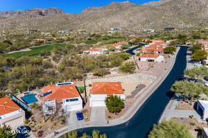 Fantastic corner lot with amazing mountain views.