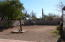 Walled in backyard separate from the fenced RV area. Plenty of room for a pool