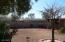 Separate walled in backyard