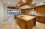 Great Butcher Block Island with Skylight