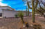 Manicured Yard With Turquoise & Quartz Rocks & Boulders Decorating This Low Care Desert Scene
