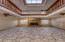 Downstairs Den With 2nd Fireplace & Marble Floors