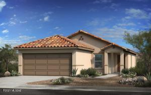 Plan 1383 includes 3 bedrooms + den, 2 bathrooms and 2 bay garage