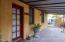 Front door of guest house