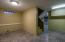 Tile flooring in basement