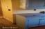 Guest house features zinc counter tops