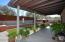 Extended patio provides abundant shade