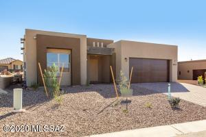 Sonoran Contemporary Front Elevation Pictures from another home.