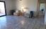Very spacious living area.