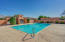 Community pool is a short walk out the front door of your home.