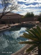 Pool and spa with lovely professionally landscaped yard