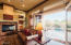 French doors open for indoor/outdoor entertaining