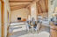 Expansive space and soaring ceilings
