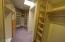 Spacious Custom Master Closet