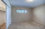 Primary bedroom with lots of natural light & privacy - plus 2 BIG closets!