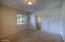 Primary bedroom with lots of natural light & privacy - plus 2 BIG closets...one has been successfully used a HOME OFFICE!