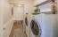 Spacious Laundry Room! The Washer and Dryer conveniently stay with the Home!