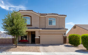 Beautiful 2 story home with 2 car garage and paver driveway.