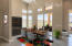 Virtual dining decor